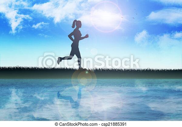 Jogging - csp21885391