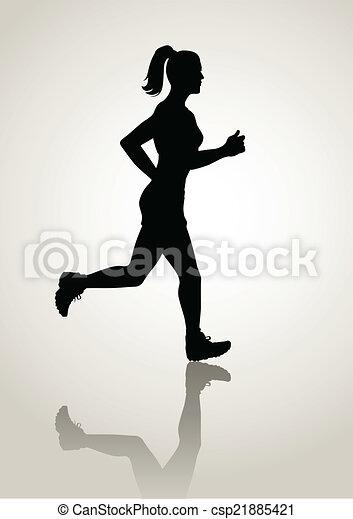 Jogging - csp21885421