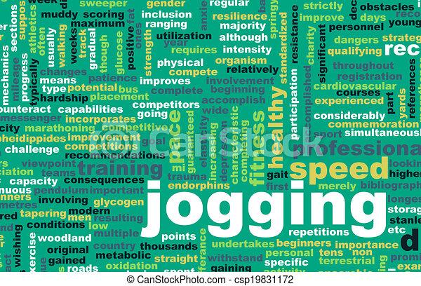Jogging - csp19831172