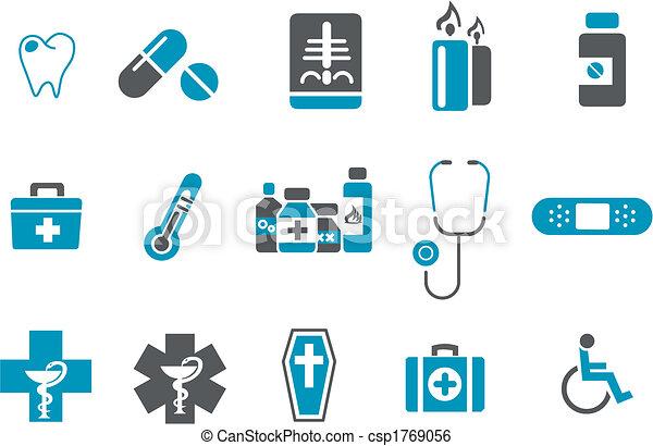 jogo, ícone, saúde - csp1769056