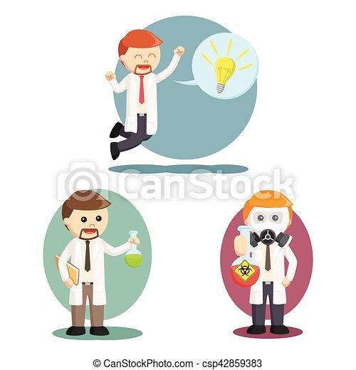 jogo cientista desenho ilustração pessoas