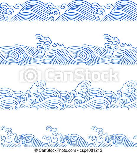 jogo, onda oceano - csp4081213