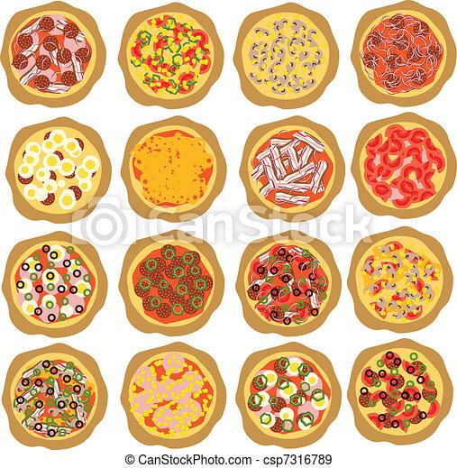 jogo, pizza - csp7316789