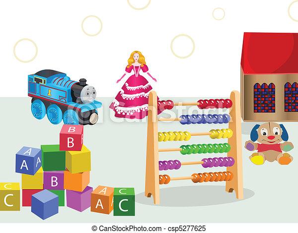 jogos, brinquedos - csp5277625