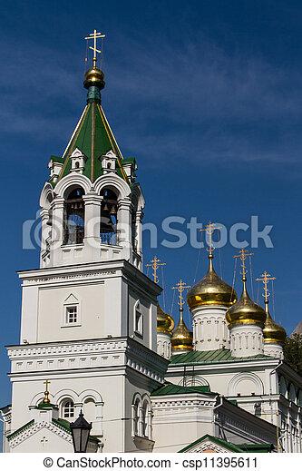John the Baptist church, Nizhny Novgorod, Russia - csp11395611