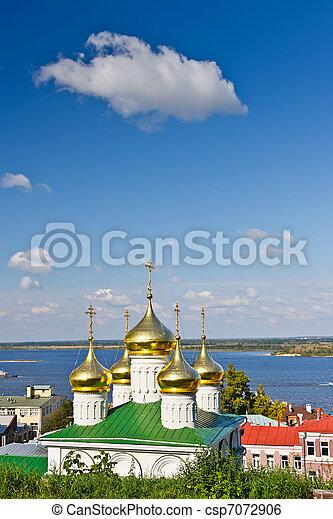John the Baptist church, Nizhny Novgorod, Russia - csp7072906