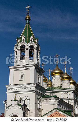 John the Baptist church, Nizhny Novgorod, Russia - csp11745042