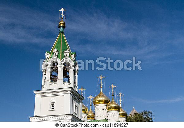 John the Baptist church, Nizhny Novgorod, Russia - csp11894327