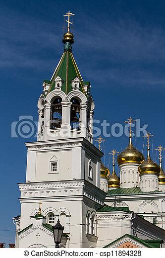 John the Baptist church, Nizhny Novgorod, Russia - csp11894328