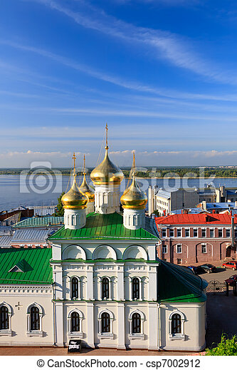 John the Baptist church, Nizhny Novgorod, Russia - csp7002912