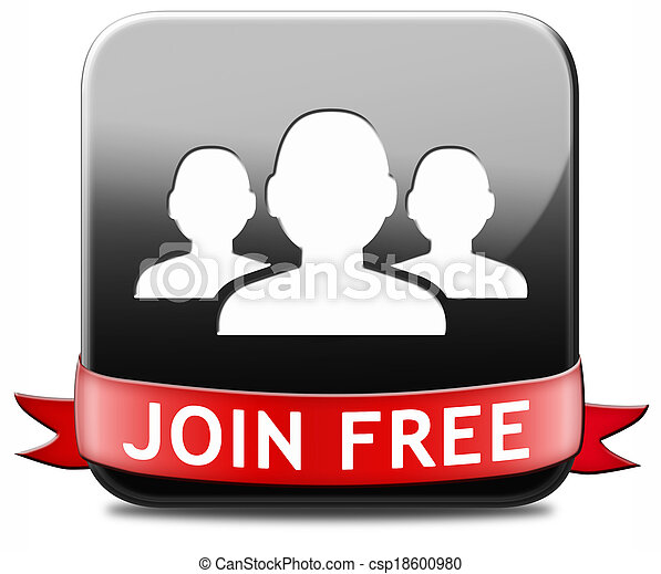 join free button - csp18600980