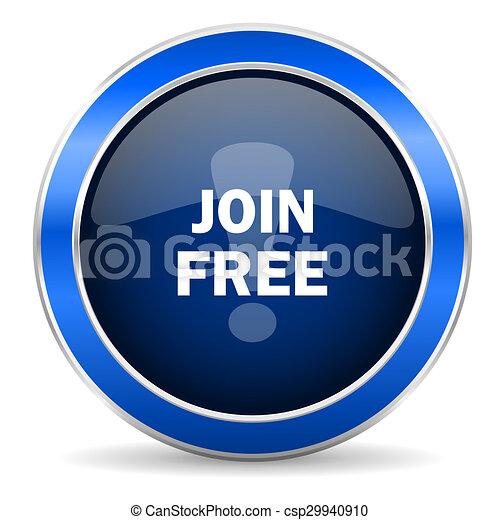 join free icon - csp29940910