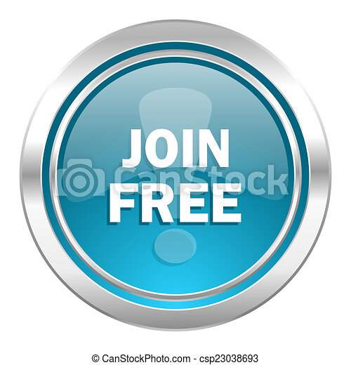 join free icon - csp23038693