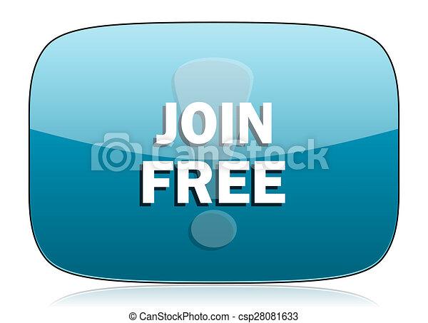 join free icon - csp28081633
