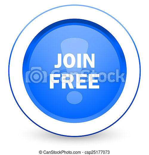 join free icon - csp25177073