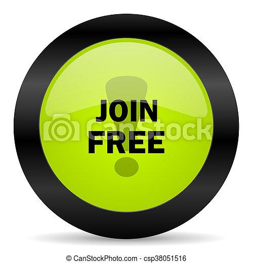 join free icon - csp38051516