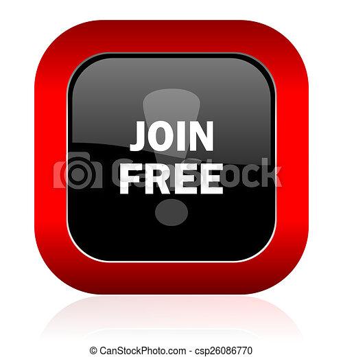 join free icon - csp26086770