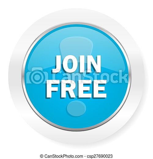 join free icon - csp27690023