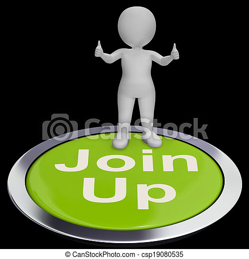 Join Up Button Shows Subscription Or Registration - csp19080535