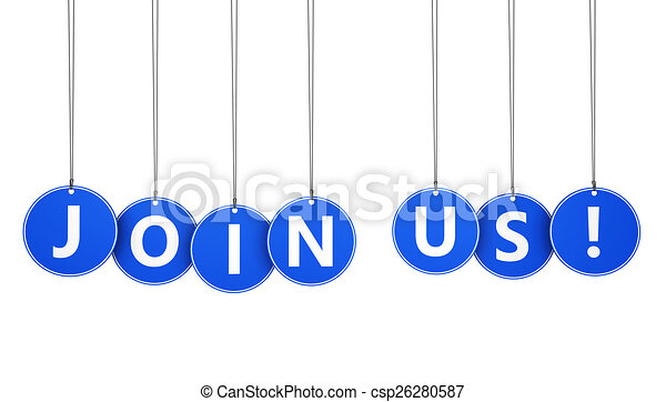 Join Us Business Concept - csp26280587
