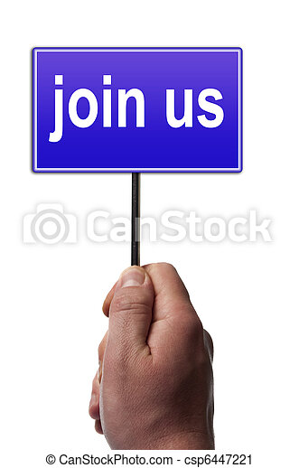 Join us message - csp6447221