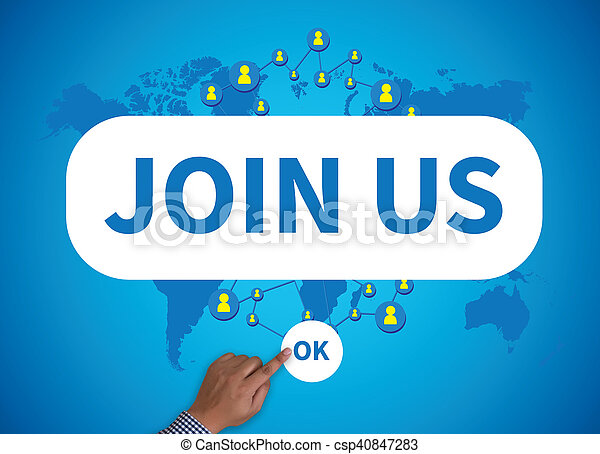 JOIN US - csp40847283