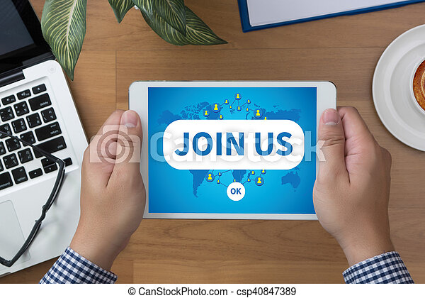 JOIN US - csp40847389