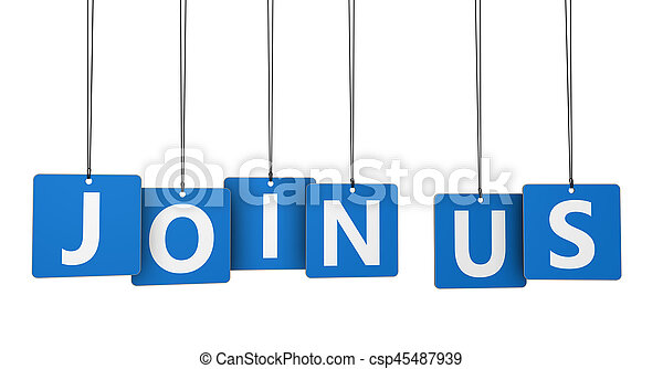 Join Us Sign On Tags - csp45487939