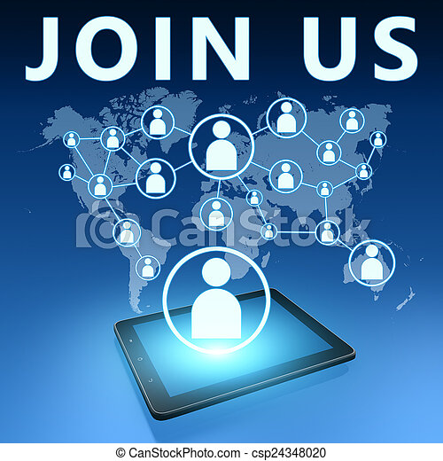 Join us - csp24348020