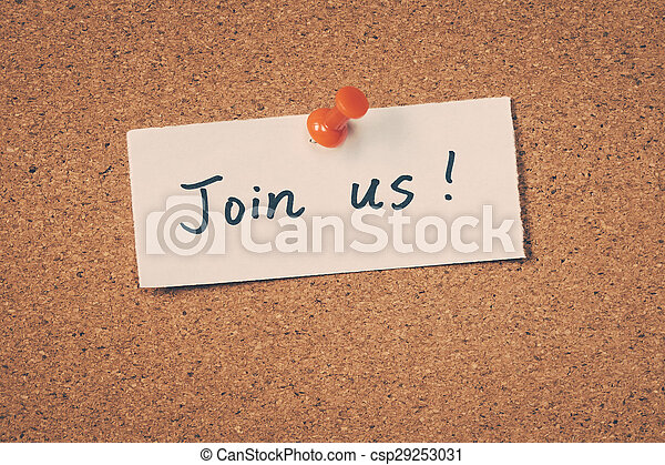 Join us - csp29253031