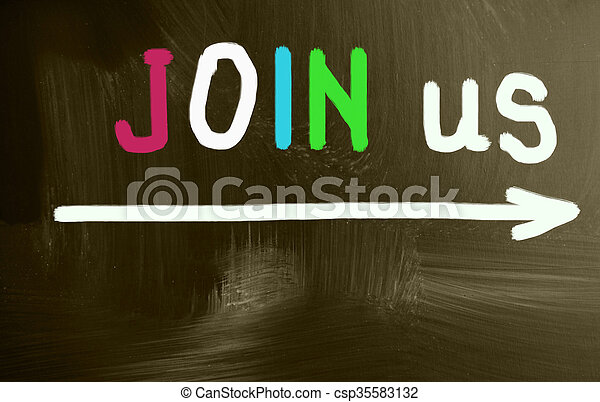 join us - csp35583132