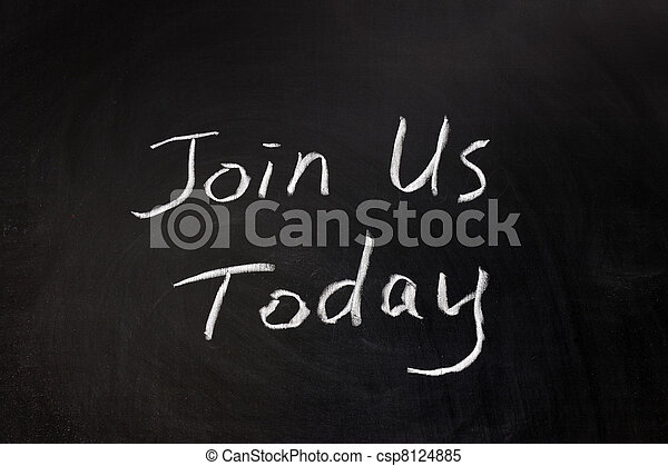 Join us today - csp8124885