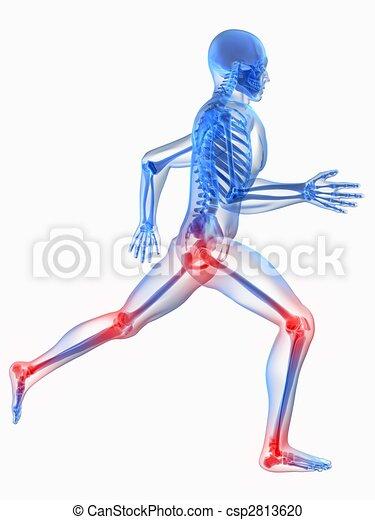 joints, douloureux - csp2813620