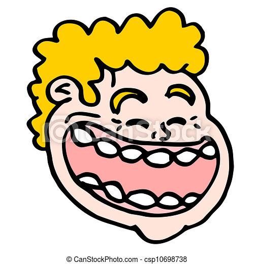 joke face funny design of joke face