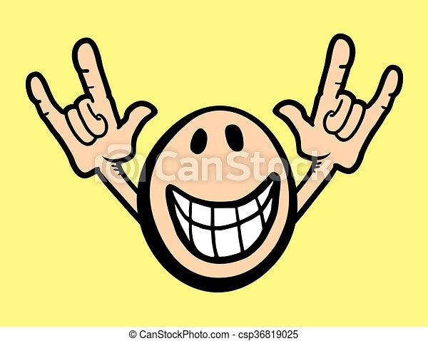 creative design of joke face