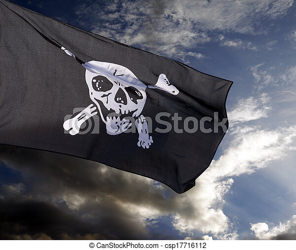 Jolly Roger (pirate flag) - csp17716112
