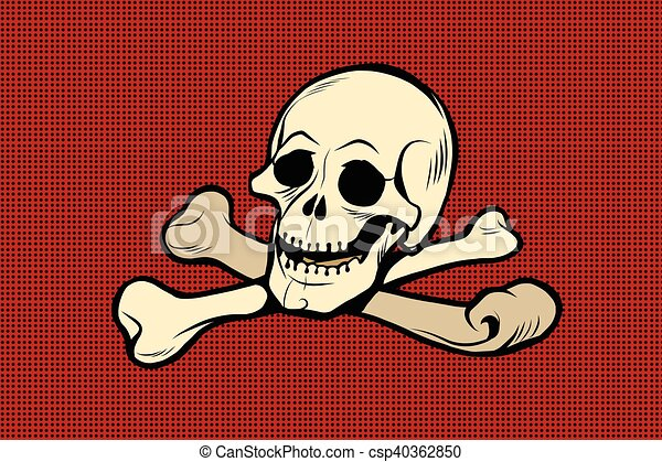 Jolly Roger The Skull And Crossbones The Skeleton Is The Symbol Of