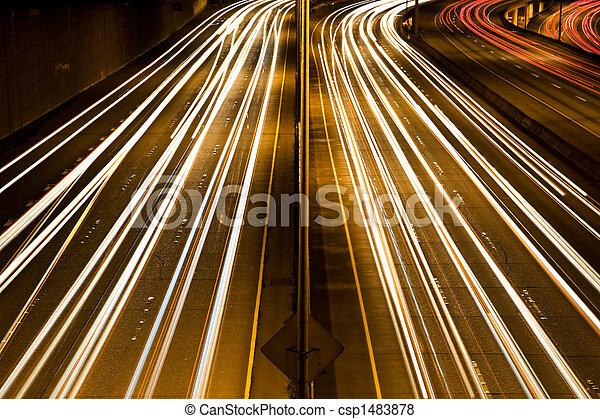 jonc, trafic, heure - csp1483878