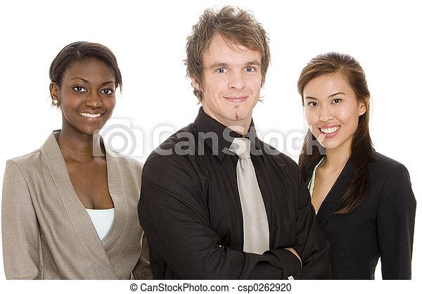 jonge, handel team - csp0262920