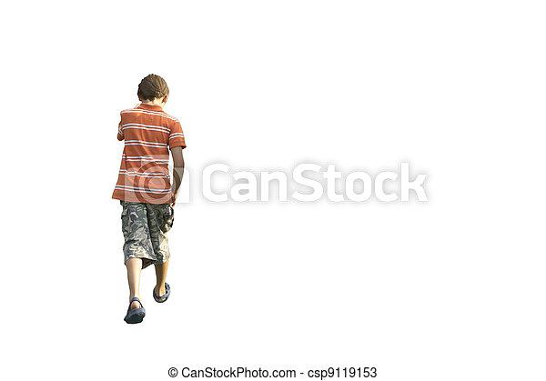 jongen, tiener - csp9119153