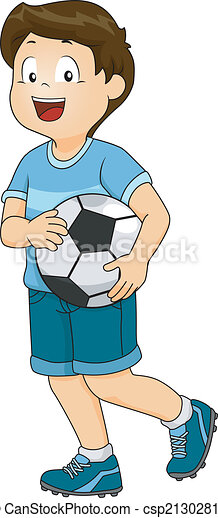 jongen, voetbal - csp21302815