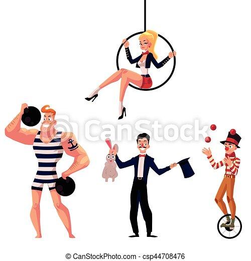 Jongleur a rien gymnaste cirque strongman - Image jongleur cirque ...