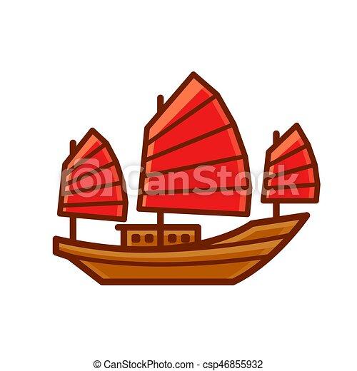 bateau jonque
