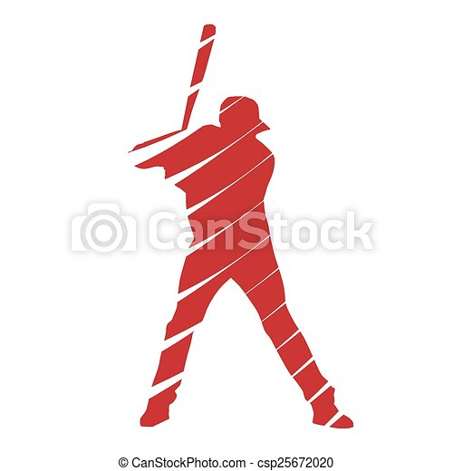 joueur, base-ball - csp25672020