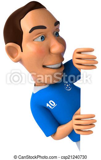 joueur, football - csp21240730