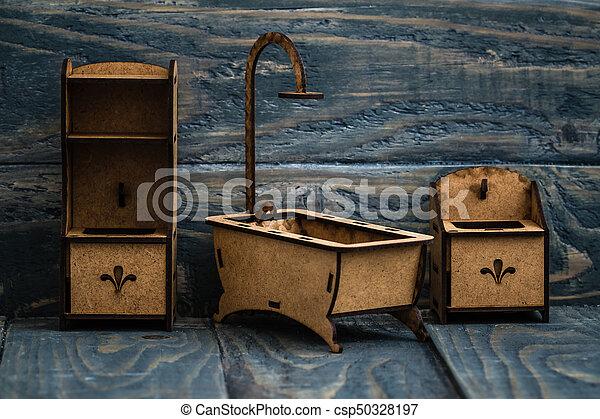 jouir de miniature bois peinture enfants meubles csp50328197
