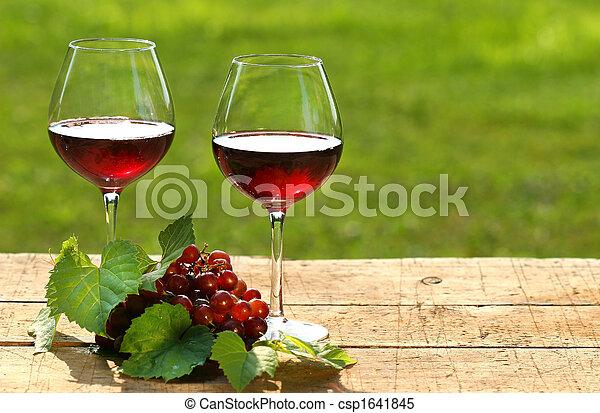 jour été, vin - csp1641845