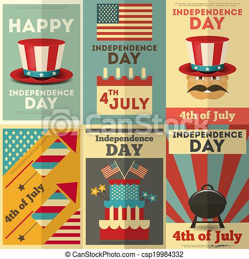 jour indépendance - csp19984332