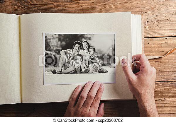 jour pères, composition - csp28208782