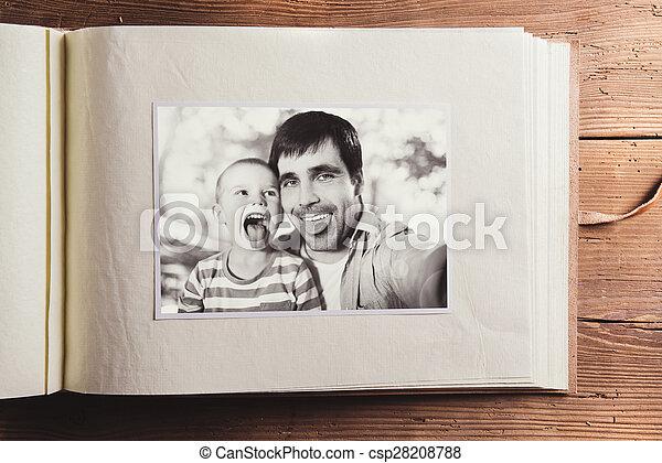 jour pères, composition - csp28208788